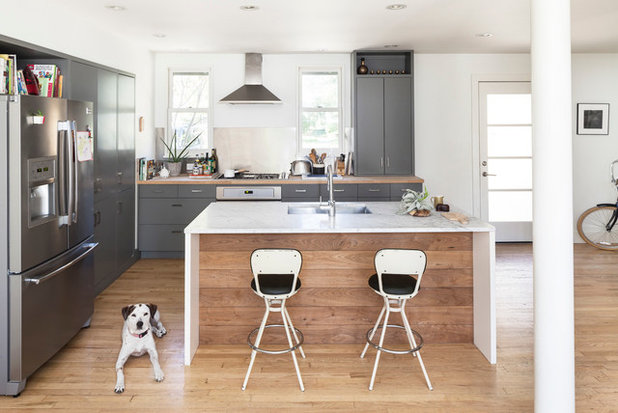 Scandinavian Kitchen by 9 square studio