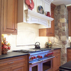 Traditional Kitchen by George's Kitchens, Inc.