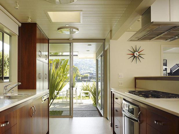 Midcentury Kitchen by Gary Hutton Design