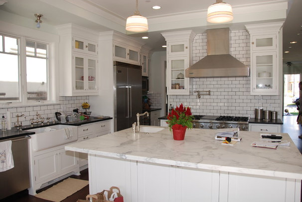 Traditional Kitchen by Lane Design + Build