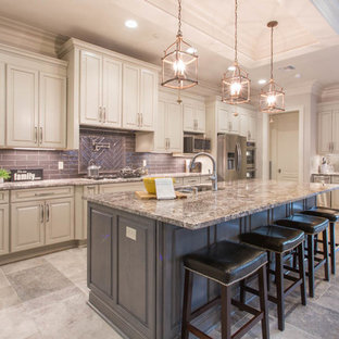 75 Most Popular New Orleans Kitchen With Granite Countertops Design