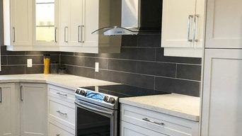 Gary's Modern Shaker White Kitchen