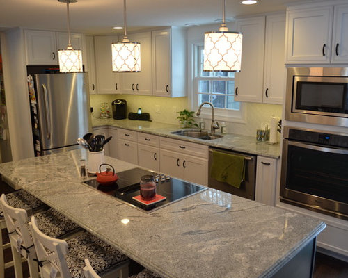 Viscont White Granite Home Design Ideas, Pictures, Remodel and Decor