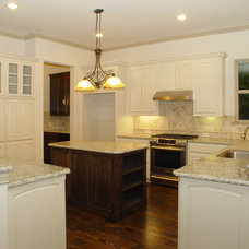 Traditional Kitchen by JLD Custom Homes