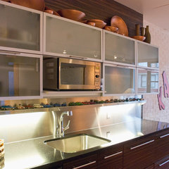 contemporary kitchen by Heather Merenda