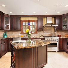 Traditional Kitchen by Artistic Renovations of Ohio LLC