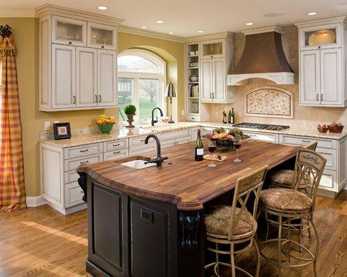 Dark Butcher Block Kitchen Island : Dark Butcher Block Home Design Ideas, Pictures, Remodel and Decor