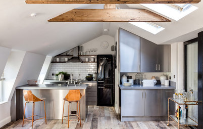 Houzz Tour: Industrial Chic in the Heart of London