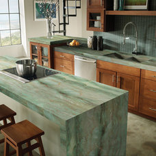 traditional kitchen countertops by Marble of the World