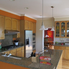 Contemporary Kitchen by All Things Home Organizing™ by Gayle Grace