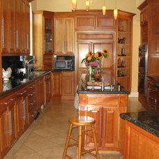 Traditional Kitchen by All Things Home Organizing™ by Gayle Grace