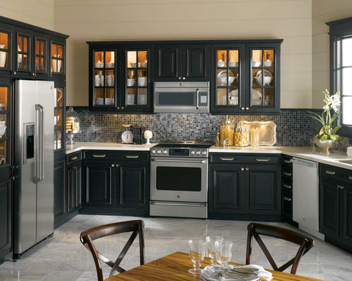 Best ge cafe collection design ideas remodel pictures for Traditional kitchen appliances