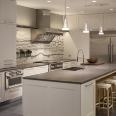 Transitional Kitchen by Bentwood of Dallas