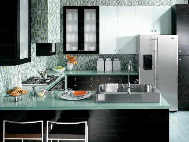 Contemporary Kitchen by Monogram Appliances