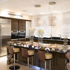 Contemporary Kitchen by Presidio Tile