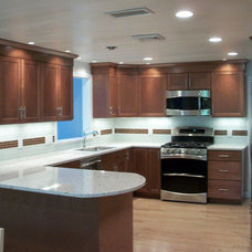 Traditional Kitchen by Harrington Construction