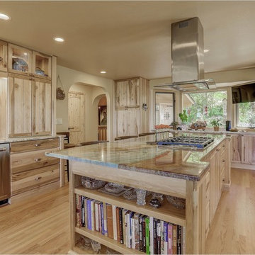 Genesee Spring Road - Mountain Rustic Kitchen