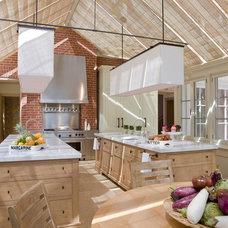 Transitional Kitchen by Jones & Boer Architects, Inc.