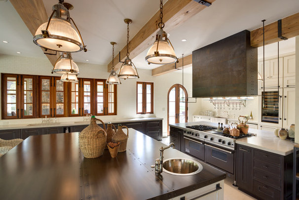 Eclectic Kitchen by Georgetown Development