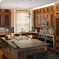 Contemporary Kitchen by Granite Connection, LLC