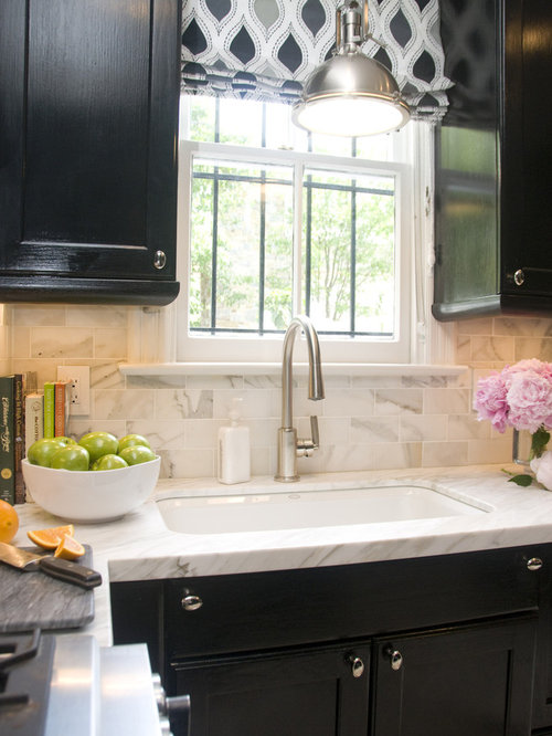 White Porcelain Sink | Houzz