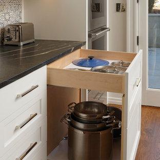 Georgetown, Washington DC - Transitional - Rowhouse Kitchen
