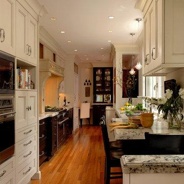 Georgetown, Washington - Traditional - Galley Kitchen