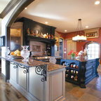 Pacific Heights Residence Kitchen Traditional