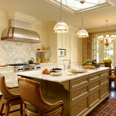 Traditional Kitchen by Lencioni Construction