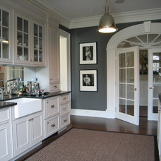 Traditional Kitchen by S. B. Long Interiors