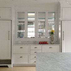 Transitional Kitchen by Fisher Hill Group