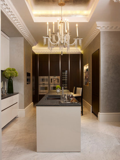 Transitional Kitchen by Oliver Burns