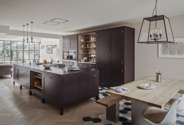 Eclectic Kitchen by Plain English