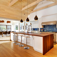 Transitional Kitchen by Erica Broberg Smith Architect PLLC