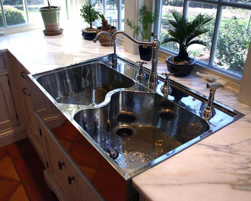 German silver sink houzz for German kitchen sinks