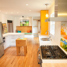 Contemporary Kitchen by KBC - Kelley Building Company