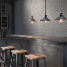 Industrial Kitchen by LampsUSA