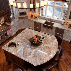 Mediterranean Kitchen by Select Stone