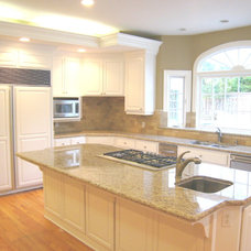 Traditional Kitchen by Artistic Stone Kitchen & Bath, Inc.
