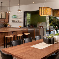 Contemporary Kitchen by Habitations Interior Design