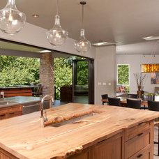 Contemporary Kitchen by Habitations Interior Design