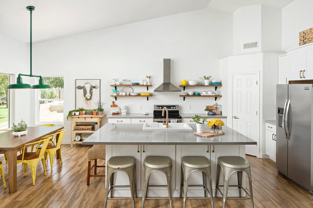 Transitional Kitchen by AFT Construction