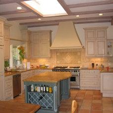 Mediterranean Kitchen by Nancy Evans, Allied ASID