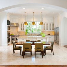 Mediterranean Kitchen by TATUM BROWN CUSTOM HOMES