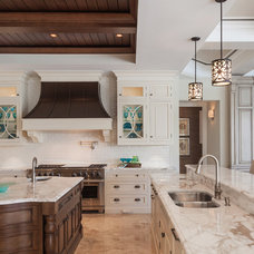 Traditional Kitchen by Ruffino Cabinetry