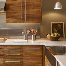 Modern Kitchen by Brett Webber Architects, PC