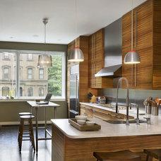 Modern Kitchen by Brett Webber Architects, PC