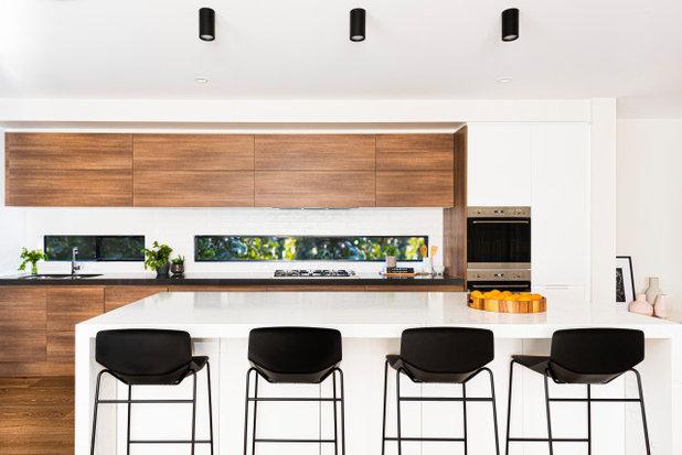 Contemporary Kitchen by Santamaria Design
