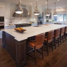 Transitional Kitchen by Kitchen Designs by Debra