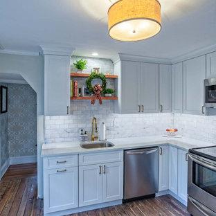Gladwyne Modern-Rustic Farmhouse Kitchen